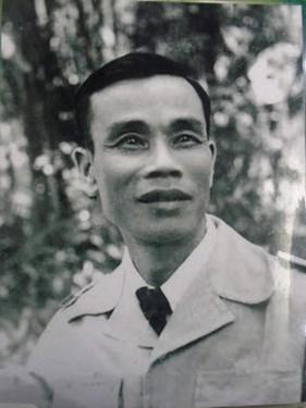 Thiếu tướng Trần Tử Bình những ngày ở Việt Bắc.