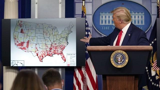 Tổng thống Trump. Ảnh: Fox 17.