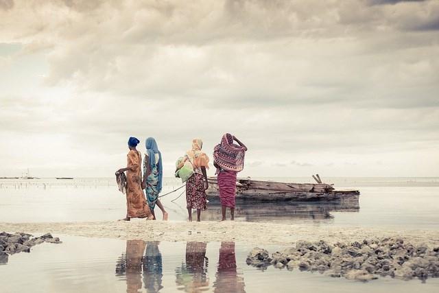 Nhiếp ảnh gia Dariusz Ociepa chụp bức ảnh này tại Jambiani, Tanzania.