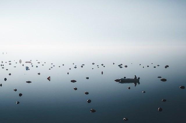Tác giả Anskar Lenzen chụp bức ảnh này tại Perast, Montenegro.