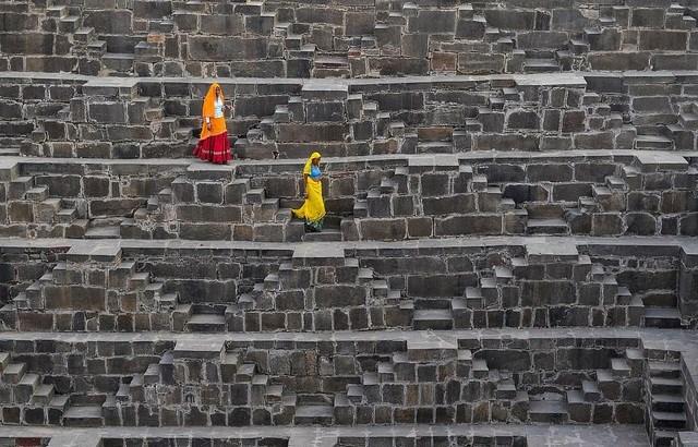 Tác giả Tor Olav Olsen chụp bức ảnh tại Jaipur, Ấn Độ.