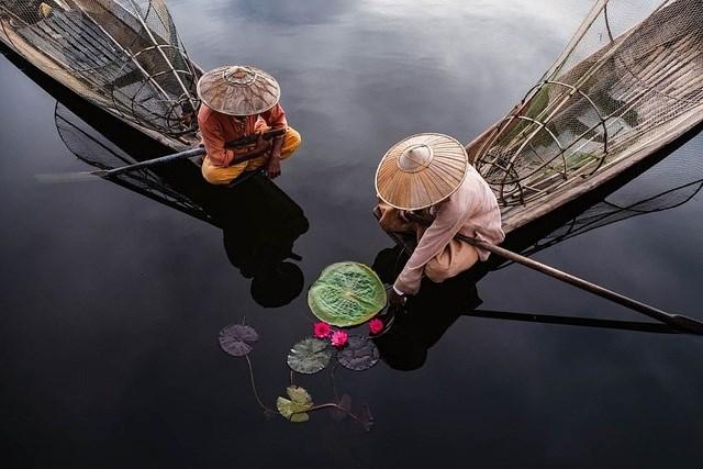 Nhiếp ảnh gia Gabi Steiner đến từ Thụy Sĩ chụp bức ảnh tại Myanmar.