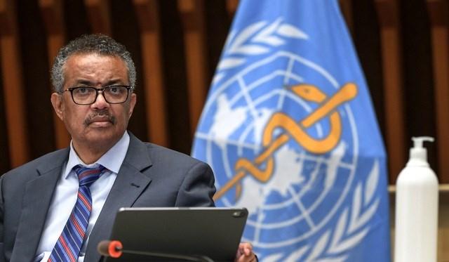 Tổng giám đốc WHO Tedros Adhanom Ghebreyesus (Ảnh: AFP).