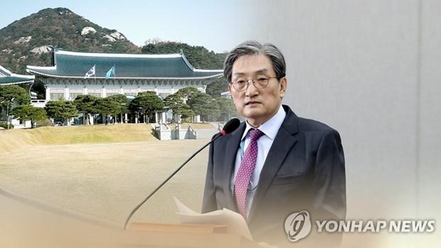 Chánh Văn phòng Noh Young-min, một trong các quan chức bị đề nghị từ chức. (Nguồn: Yonhap).