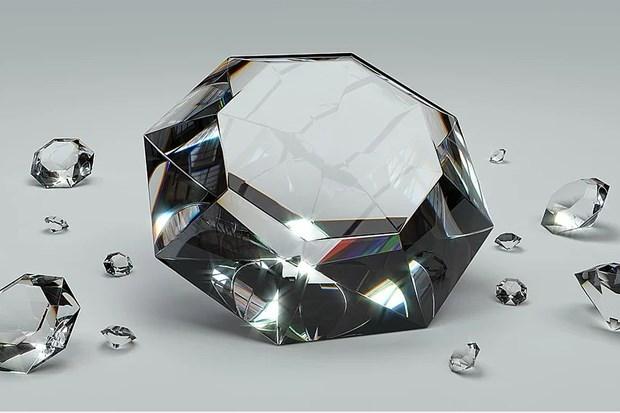 Sản phẩm kim cương tổng hợp của Heyaru Engineering. (Ảnh: Tekdeeps).