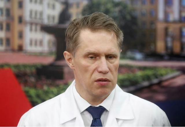 Bộ trưởng Bộ Y tế Nga Mikhail Murashko. Nguồn: Reuters.