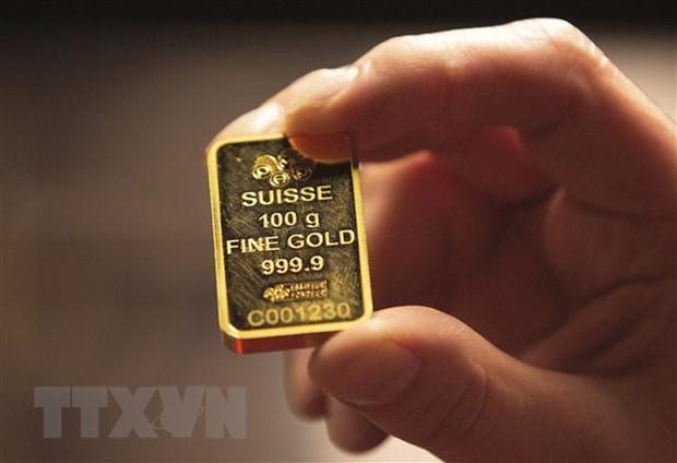 Vàng miếng được bán tại Dublin, Ireland. (Ảnh: AFP/ TTXVN).