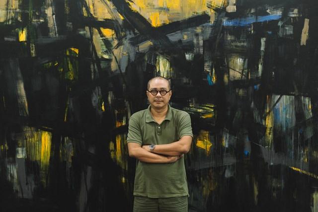 Họa sĩ Phạm An Hải.