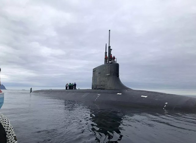 Mỹ bất ngờ công bố hình ảnh về tàu ngầm tấn công lớp Seawolf - Ảnh 3