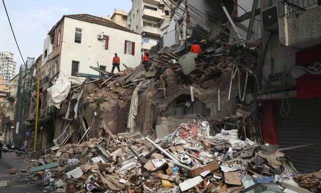 Vụ nổ Beirut khiến 191 người chết, hơn 6.000 người bị thương. (Ảnh: Getty).
