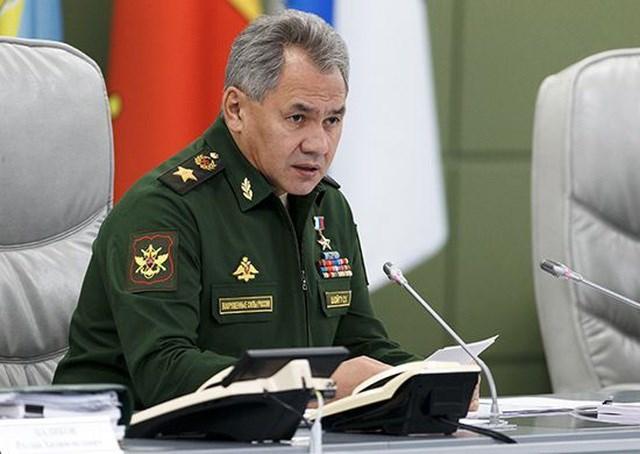 Bộ trưởng Quốc phòng Nga Sergei Shoigu (Ảnh: TASS)..
