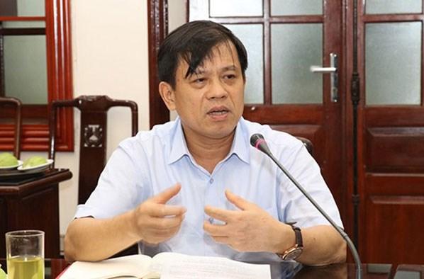 Tân Thứ trưởng Bộ Lao động - Thương binh và Xã hội Nguyễn Bá Hoan. Ảnh: VNE.