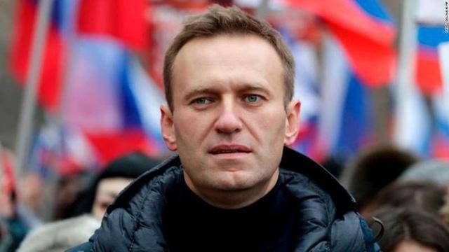 Chính trị gia đối lập của NgaAlexei Navalny. Ảnh: CNN.