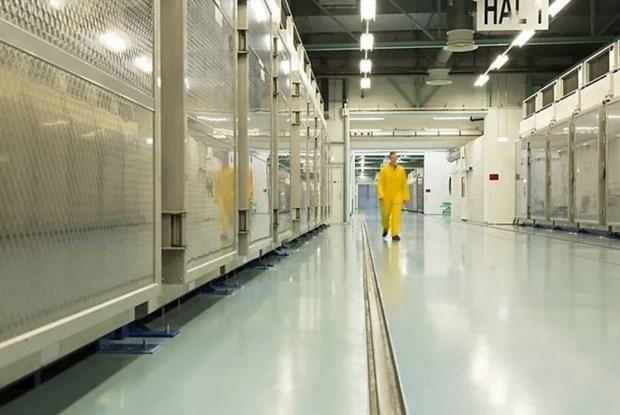 Bên trong nhà máy nhà máy Fordow. (Nguồn: AFP).