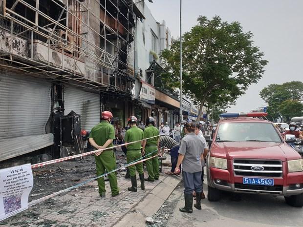 Bắt khẩn cấp đối tượng gây ra vụ cháy tại Phòng giao dịch Eximbank - Ảnh 1