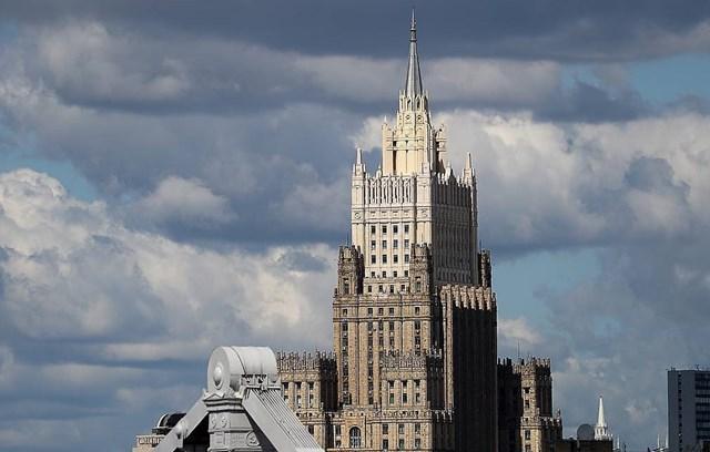 Trụ sở Bộ Ngoại giao Nga tại Moscow. Nguồn: Tass.
