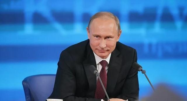 Tổng thống Nga Vladimir Putin trong cuộc họp báo thường kỳ, hôm 24/9. Nguồn: Sputnik.