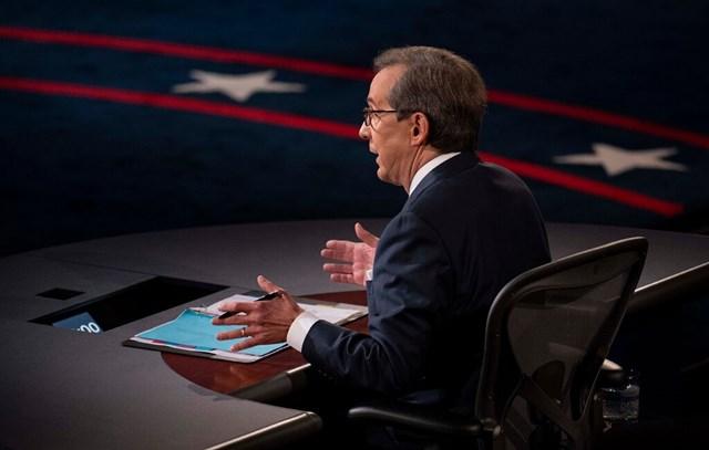 Ông Chris Wallace điều hành cuộc tranh luận bầu cử tổng thống đầu tiên Trump - Biden.