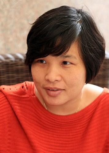 Nhà nghiên cứu Nguyễn Thị Thu Hòa.