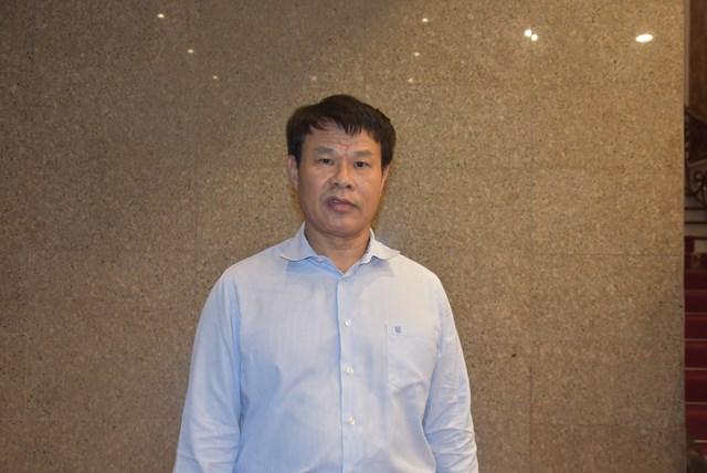 Ông Đỗ Nga Việt, Chủ tịch Công đoàn Bộ Giao thông Vận tải.