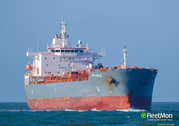 Tàu chở dầu PTI Nile. (Nguồn: fleetmon.com).
