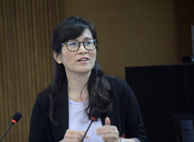 Bà Nguyễn Thu Anh.