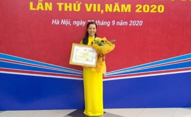 Cô giáo Phạm Thị Thanh Nhung.