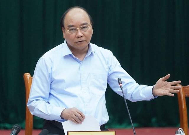 Thủ tướng Chính phủ Nguyễn Xuân Phúc. Ảnh: Quang Hiếu.