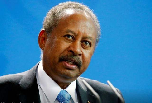 Thủ tướng Sudan Abdalla Hamdok. Nguồn: Reuters.