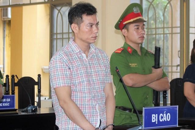 Bị cáo Lê Duy Thanh tại TAND tỉnh Quảng Nam.