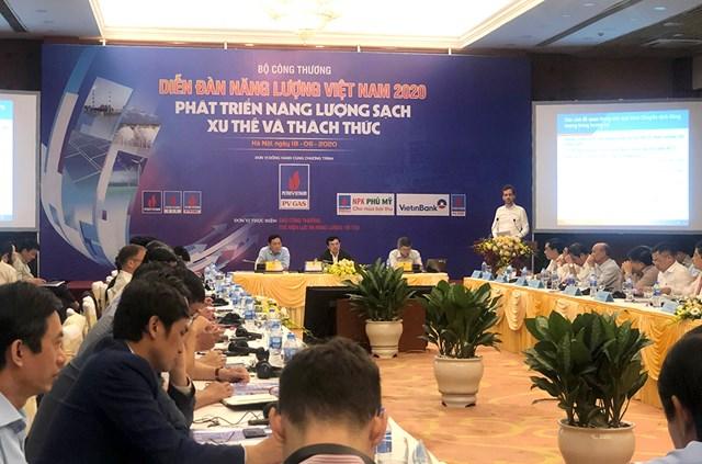 Quang cảnh Diễn đàn Năng lượng Việt Nam 2020.