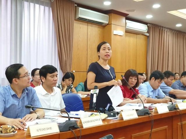 Bà Đặng Kim Hoa - Phó cục trưởng Cục Bổ trợ tư pháp, Bộ Tư pháp.