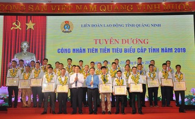 BẢN TIN MẶT TRẬN: Tuyên dương người lao động tiên tiến tỉnh Quảng Ninh - Ảnh 1
