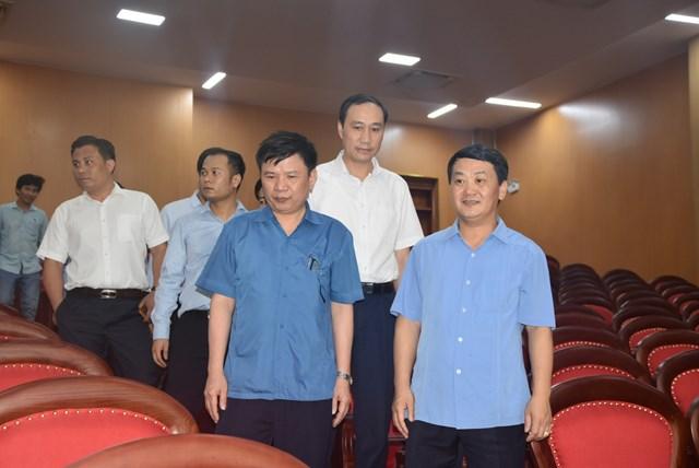 Bàn giao công trình trụ sở Trung tâm bồi dưỡng cán bộ MTTQ Việt Nam - Ảnh 1