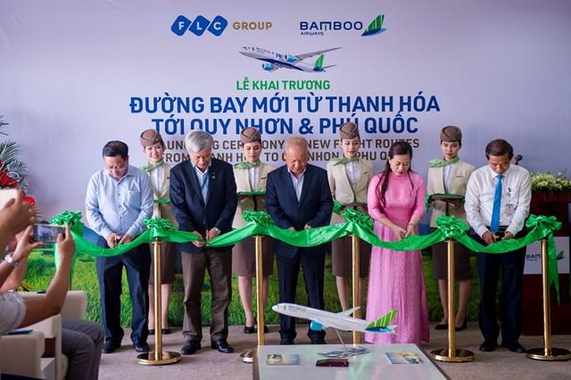 Bamboo Airways đã khai trương 2 đường bay mới kết nối Thanh Hóa – Quy Nhơn và Thanh Hóa – Phú Quốc.