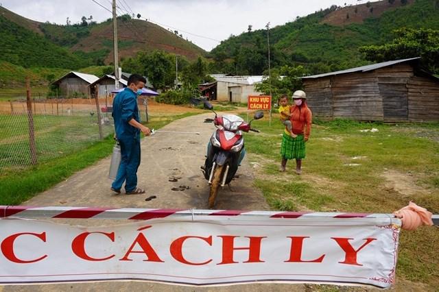 Các ổ dịch bạch hầu ở tỉnh Đắk Nông được cách ly nghiêm ngặt.