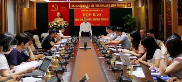 HĐND TP Hà Nội thông tin về kỳ họp.