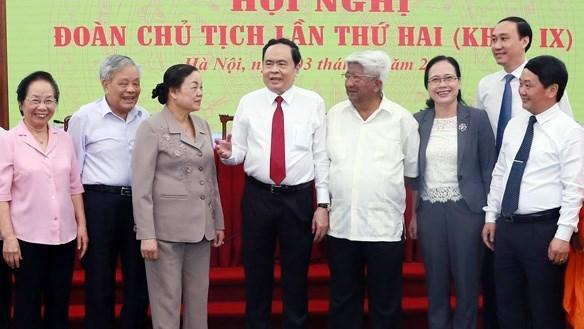 BẢN TIN MẶT TRẬN: Hội nghị Đoàn Chủ tịch UBTƯ MTTQ Việt Nam lần thứ hai, khóa IX  - Ảnh 1