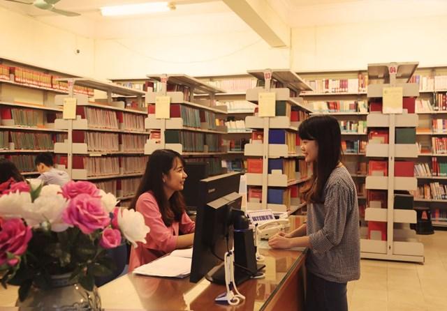 Luật Thư viện góp phần trong việc lan tỏa văn hóa đọc. (Ảnh minh họa).