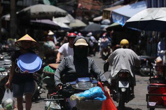 Trong những ngày tới Bắc Bộ tiếp tục nắng nóng gay gắt. Ảnh: Quang Vinh.