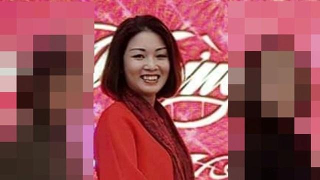 Bà Hoàng Thị Ánh Nguyệt, vợ ông Hậu.