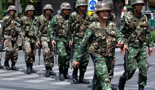 Các binh sĩ Thái Lan. Nguồn: The Week.