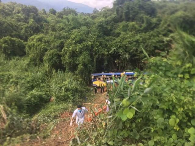 Vụ TNGT đặc biệt nghiêm trọng khiến 5 người chết, 35 người bị thương.