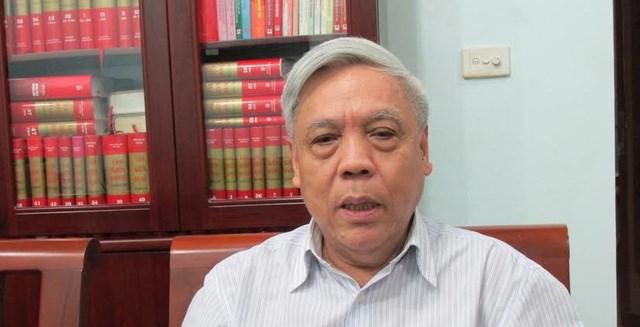 PGS TS Nguyễn Trọng Phúc.