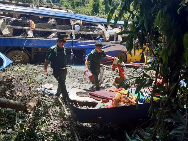 Cơ quan chức năng đang điều tra, làm rõ vụ tai nạn.