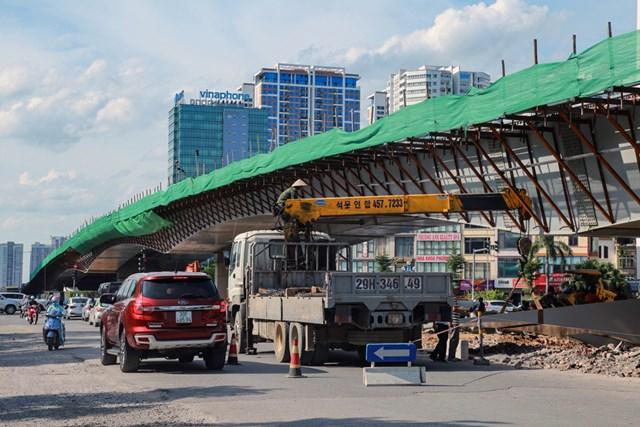 Đây là một trong những công trình có quy mô lớn nhất Thủ đô.