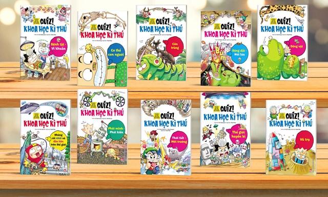 Bộ sách khoa học kì thú dành cho trẻ em - Ảnh 1