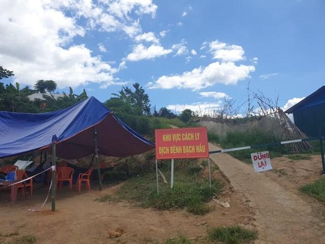 Một ổ dịch bạch hầu tại tỉnh Đắk Nông được kiểm soát chặt chẽ.