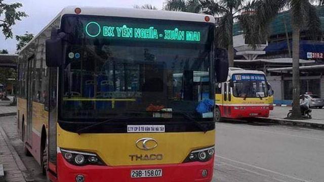 Xe buýt tuyến 72, lộ trình Yên Nghĩa – Xuân Mai.