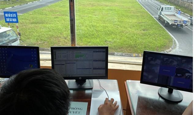 Hệ thống giám sát thực hành thi bằng lái ô tô.